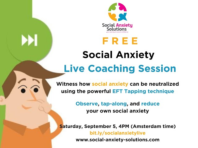 Join our Free Live Social Anxiety Coaching Session!