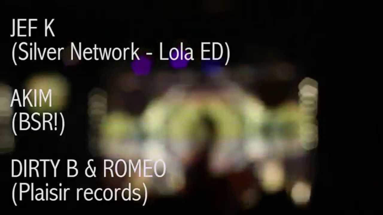 BONSOIR! invite Jef K (Silver Network- Lola ED) / Dirty B & Romeo - Akim @La Dynamo [Toulouse]
