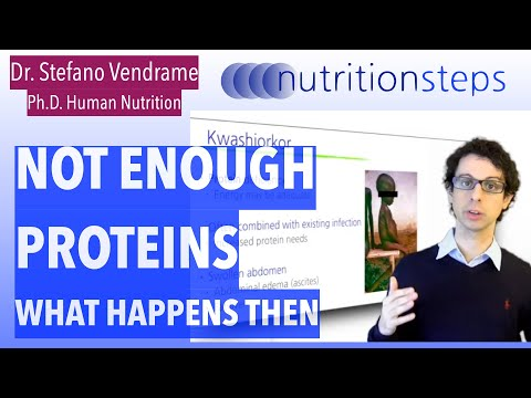 What happens if we don't get enough proteins?