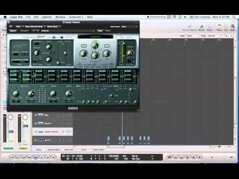 Dub Step Vocal Chop (Skrillex style) Logic Pro EXS Tutorial