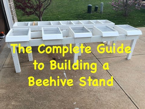 Complete Guide to Building a Durable Beehive Stand