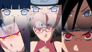 naruto ultimate ninja storm 4 sarada sasuke obito vs hanabi neji hinata uchiha hyugua