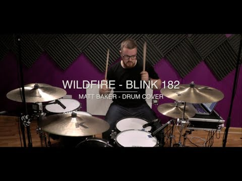 Wildfire - Blink 182 drum cover