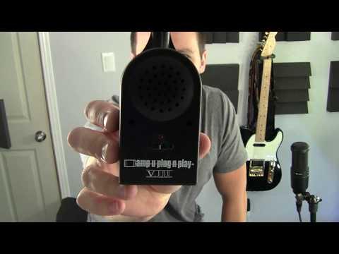 Amp U Plug N Play - micro Guitar Amplifier