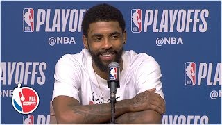 Kyrie Irving: 'It's just been a long journey' to NBA postseason | 2019 NBA Playoffs