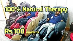 Cheapest Full body massage chair machine by AROGYA back thigh neck massage techniques