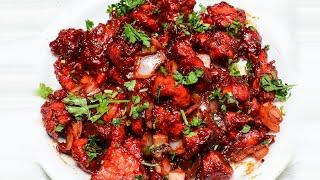5 నమషలల రసటరట సటల చలల చకన తయర.. - Chilli Chicken  Livefood Telugu