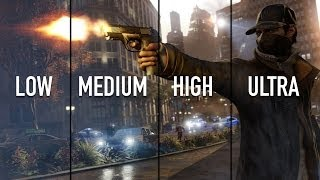 Watch Dogs PC Performance Review: Low vs Medium vs High vs Ultra Benchmarks (1440p & 1080p)
