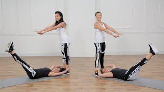 Partner Bodyweight Workout