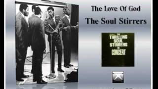The Love Of God LIVE  The Soul Stirrers Willie Rogers, lead