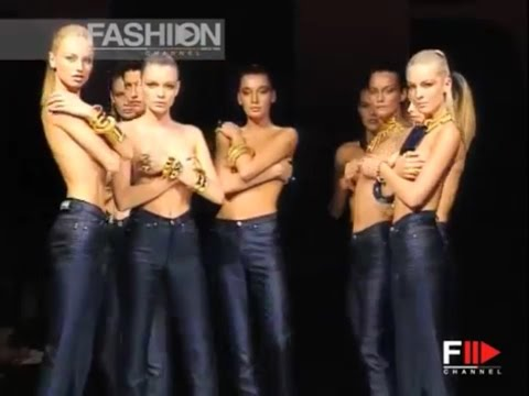 GIANFRANCO FERRE' Spring Summer 1997 Topmodels Milan - Fashion Channel
