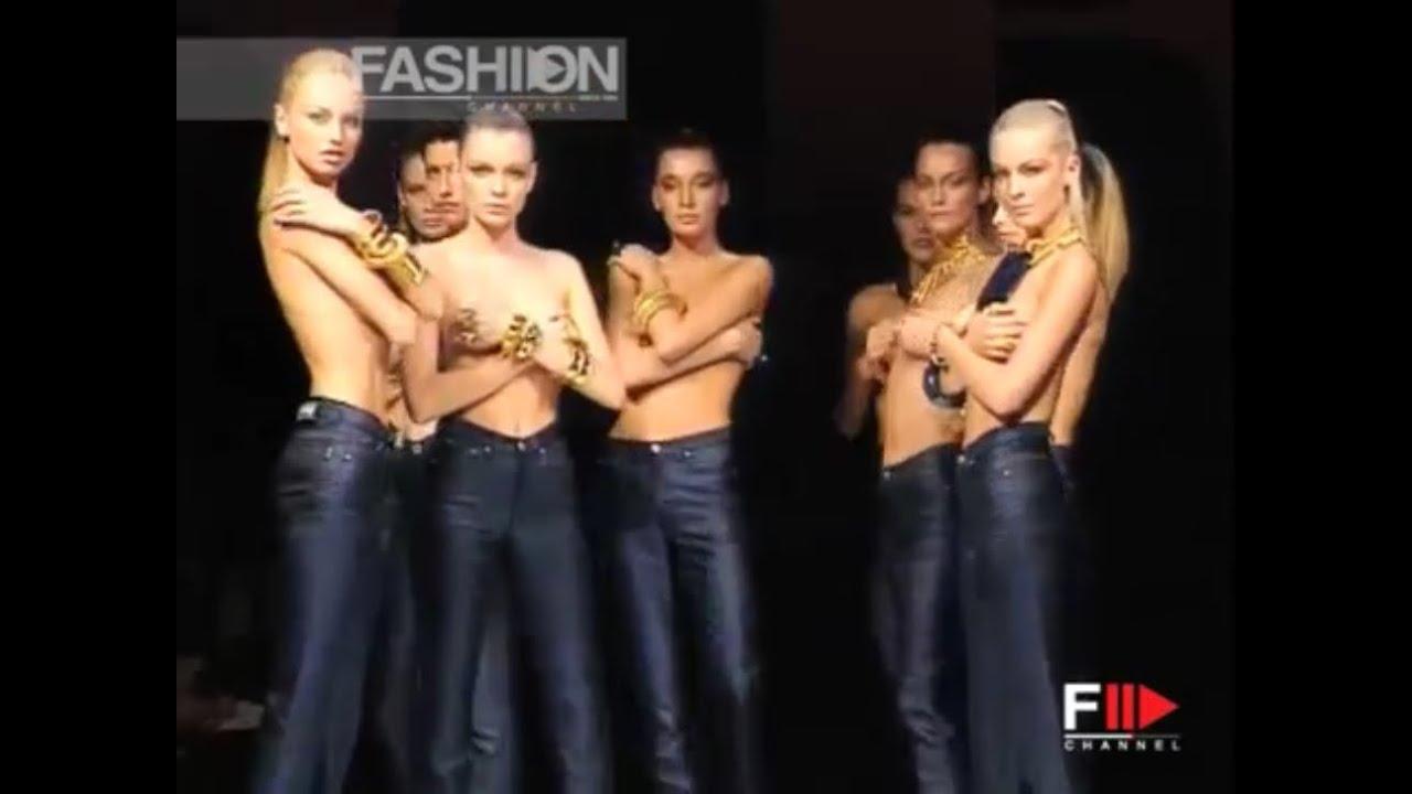 GIANFRANCO FERRE' Spring 1997 Topmodels Milan - Fashion Channel