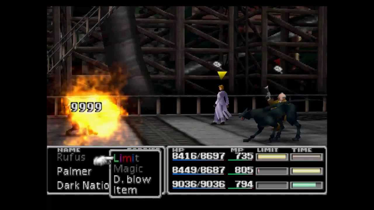 FF7 All Stars Mod by Jeet /Sephiroth limits break/ Turks and others Bosses  in the party/ PSX/ PSP