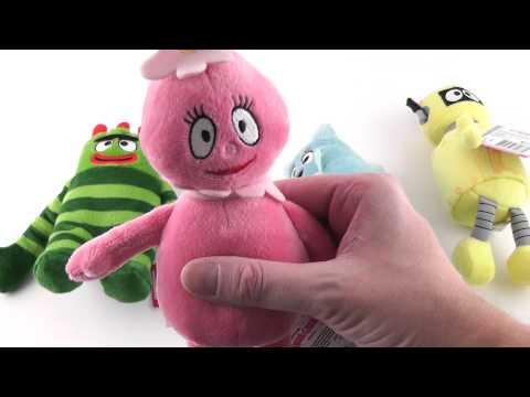 Yo Gabba Gabba! Talking Plush Dolls