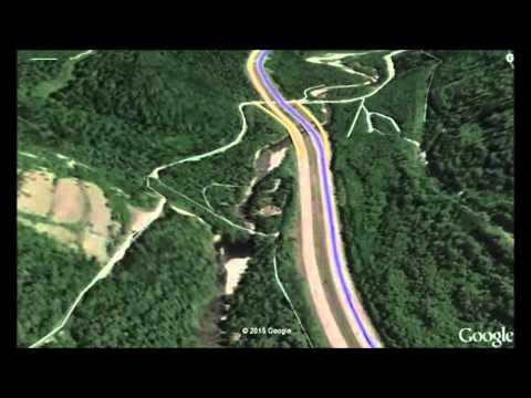 Google Earth Tour: Seattle to Spokane, Washington: