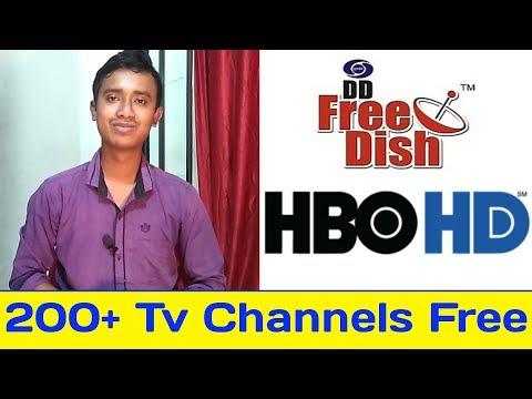 Dd free dish New Channels List 2019  HBO HD Free