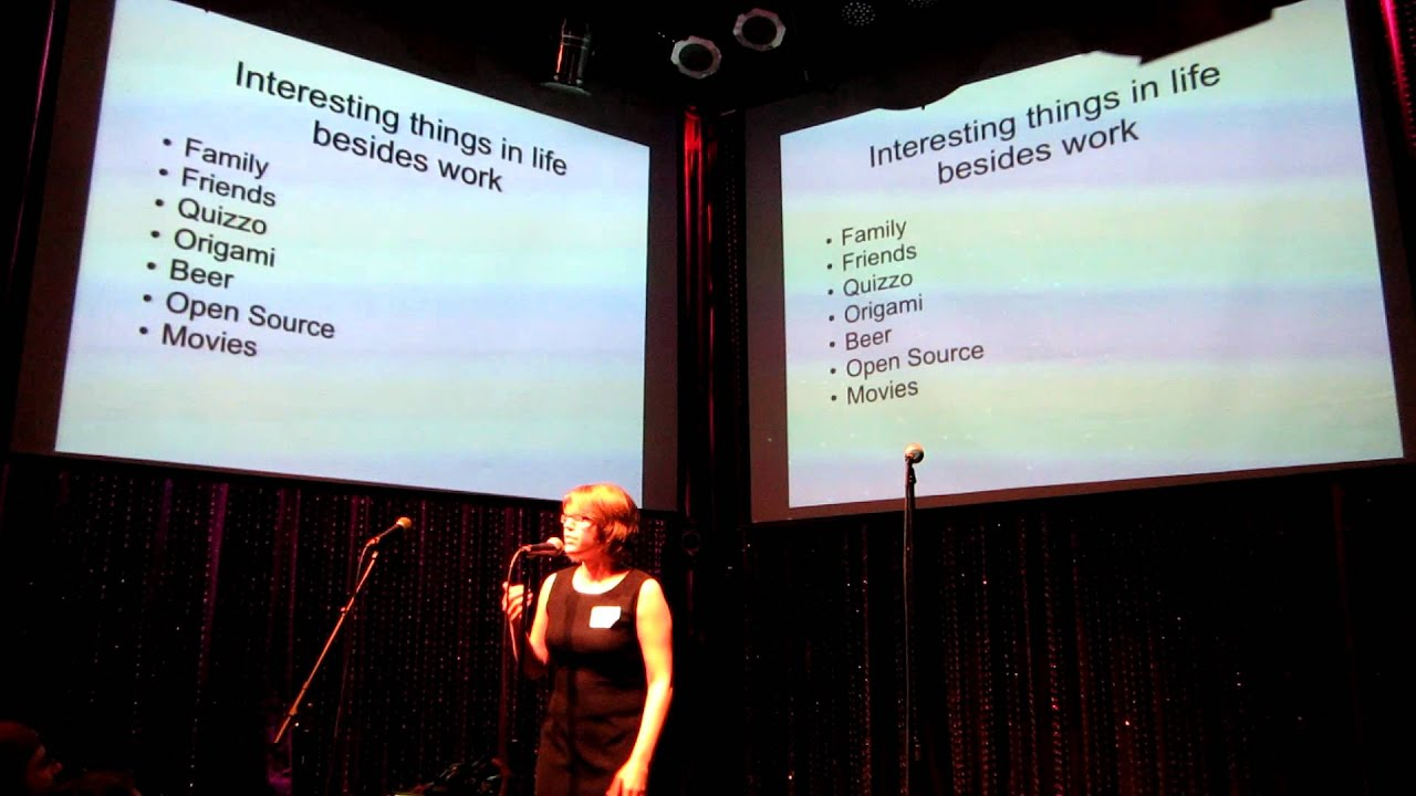 Go the Fuck Home: Engineering Work/Life Balance - Pam Selle Ignite Philly 9