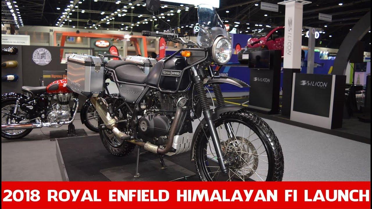 Repeat 2018 Himalayan Fi Launch Royal Enfield Himalayan Fi
