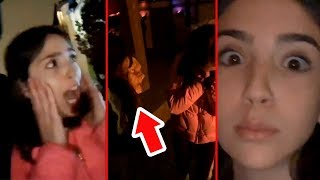 TOOK HER TO A HAUNTED HOUSE!! (Bad Idea)