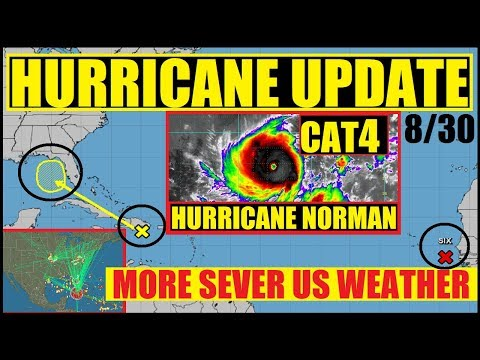 MAJOR HURRICANE NORMAN CAT4 ! ATLANTIC & GULF HURRICANE UPDATE! US WEATHER UPDATE!