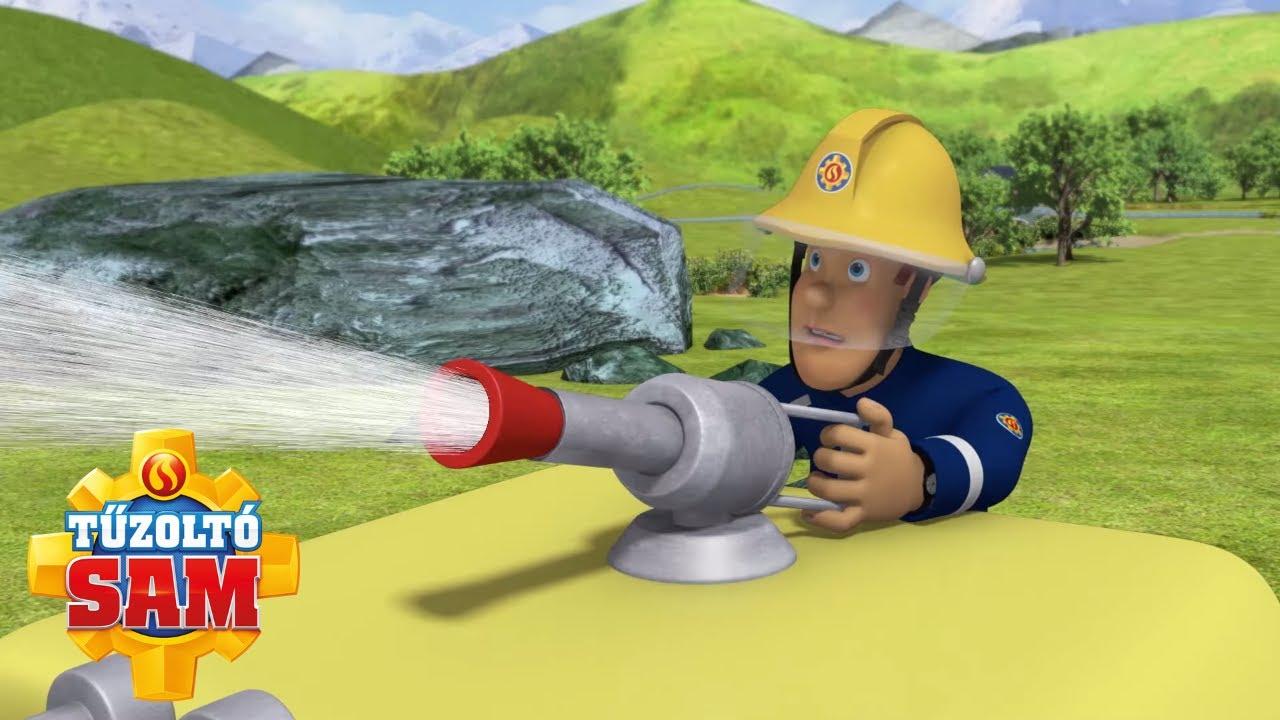 Veszélyes megmentések! | Új epizódok | Tűzoltó Sam | Rajzfilmek gyerekeknek