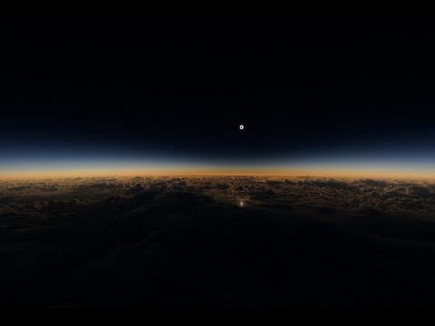 Alaska Airlines Solar Eclipse Flight #870