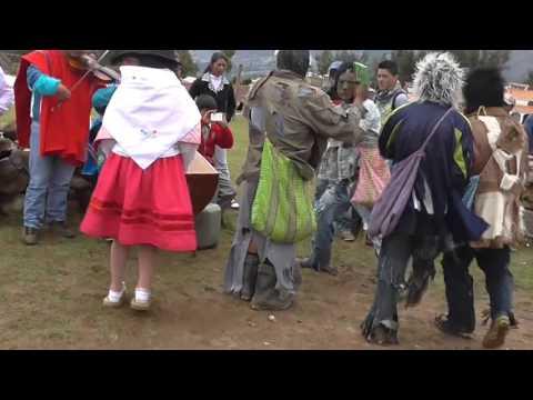 Navidad de Huarcas -Ganadores en el concurso en la Provincia de Vilcashuamán 2015.