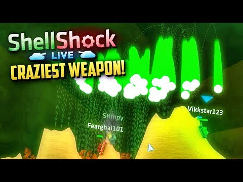 THE CRAZIEST WEAPON! - SHELLSHOCK LIVE