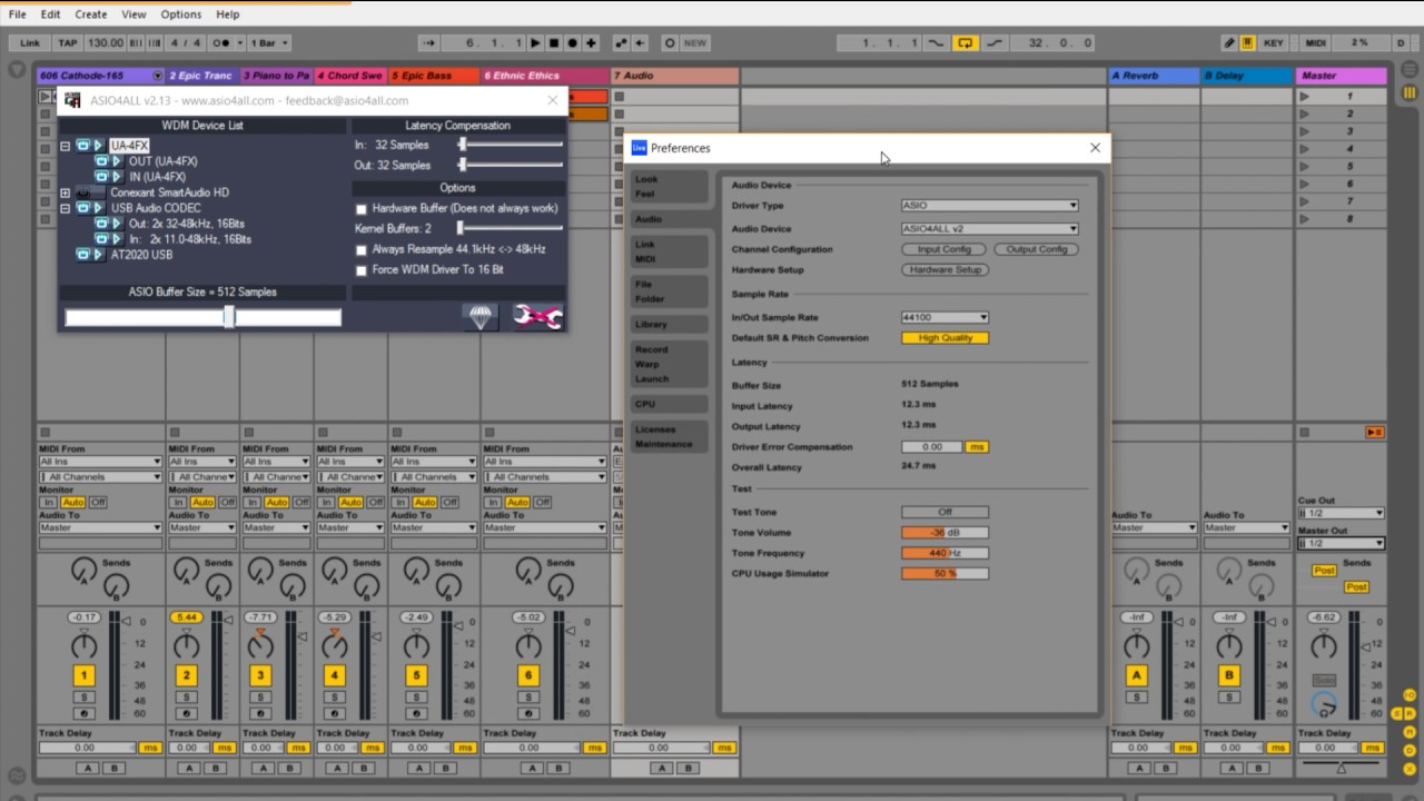 How to use ASIO4ALL with Ableton Live in under 2 Minutes