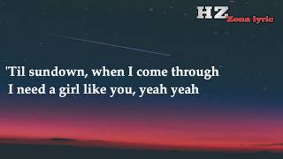 Maroon 5 - Girls Like You (lyrics)#Adam_Lavine