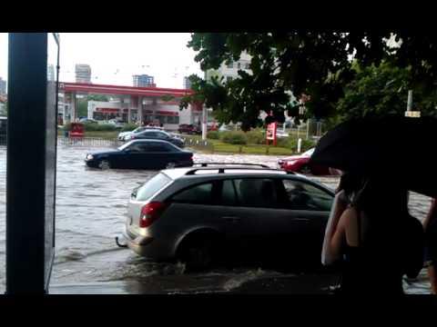 После дождя 08.07.2013 Химки, Юбилейный проспект