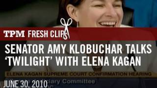Senator Amy Klobuchar Talks
