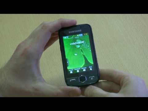 Samsung Jet S8000 demo