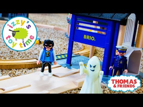 Cars for Kids | Bad Baby Bubs Runs Mom Over | Brio Police Station with Toy Trains for Kids!