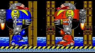 The Death Egg Robot VS the Death Egg Robot !
