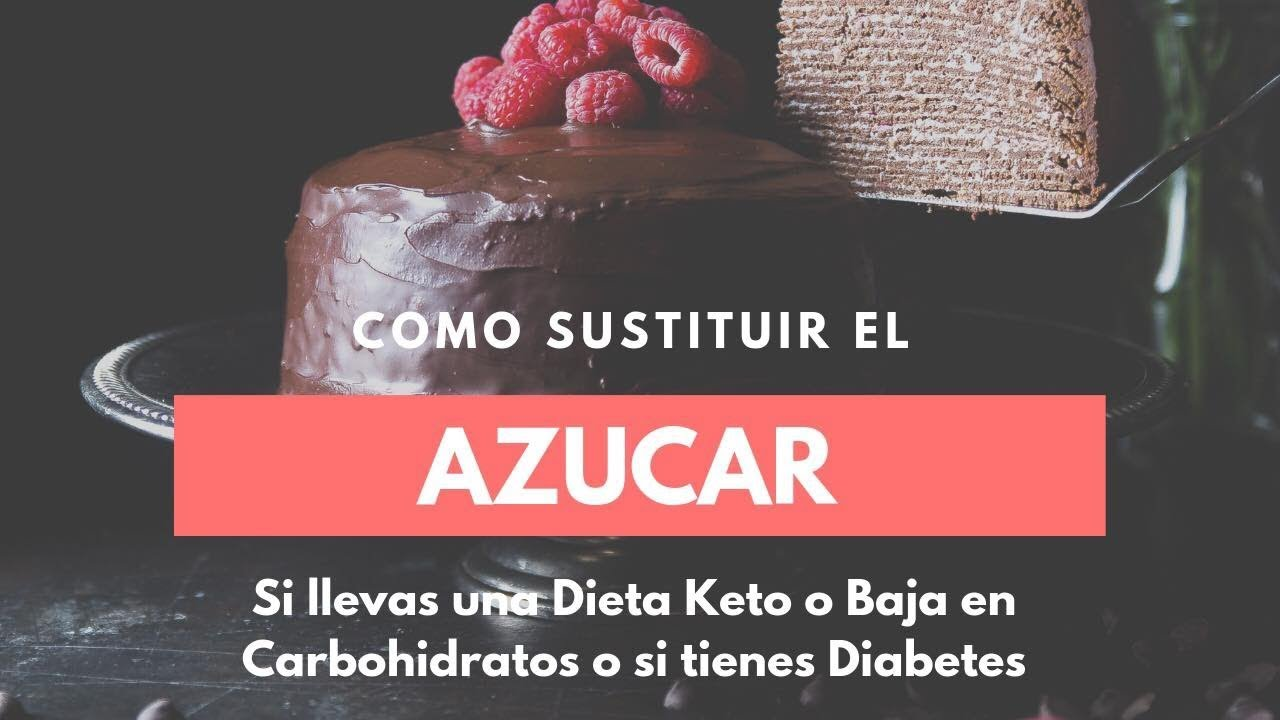 como reemplazar el azucar en la dieta