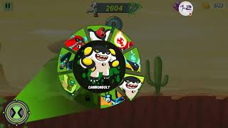 Ben 10 Alien Run Android Gameplay Unlock new Aliens Review Part 4 10000 meters score With Commentary screenshot 5