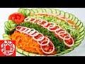 НОВИНКА! Праздничный Салат с Курицей! Необычный и потрясающе Вкусный! 🎄 Новогодние салаты 2019