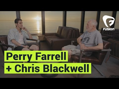 Perry Farrell + Chris Blackwell