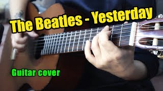 Yesterday - The Beatles   На гитаре + разбор