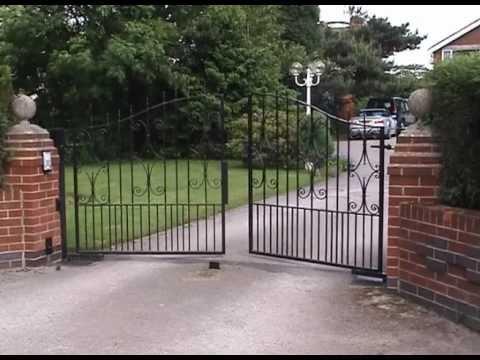Автоматика распашных ворот came ferni