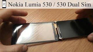 Nokia Lumia 530 / 530 Dual Sim замена экрана Как поменять дисплей и тачскрин
