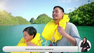 Garuda Indonesia Safety Video B777-300ER 2019