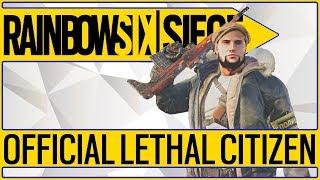 💥NEW ELITE OPERATOR💥 Glaz Lethal Citizen Elite Skin - Uniform & MVP Animation Rainbow 6 Siege