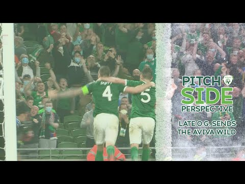 PITCHSIDE PERSPECTIVE | LATE O.G. SENDS THE AVIVA WILD