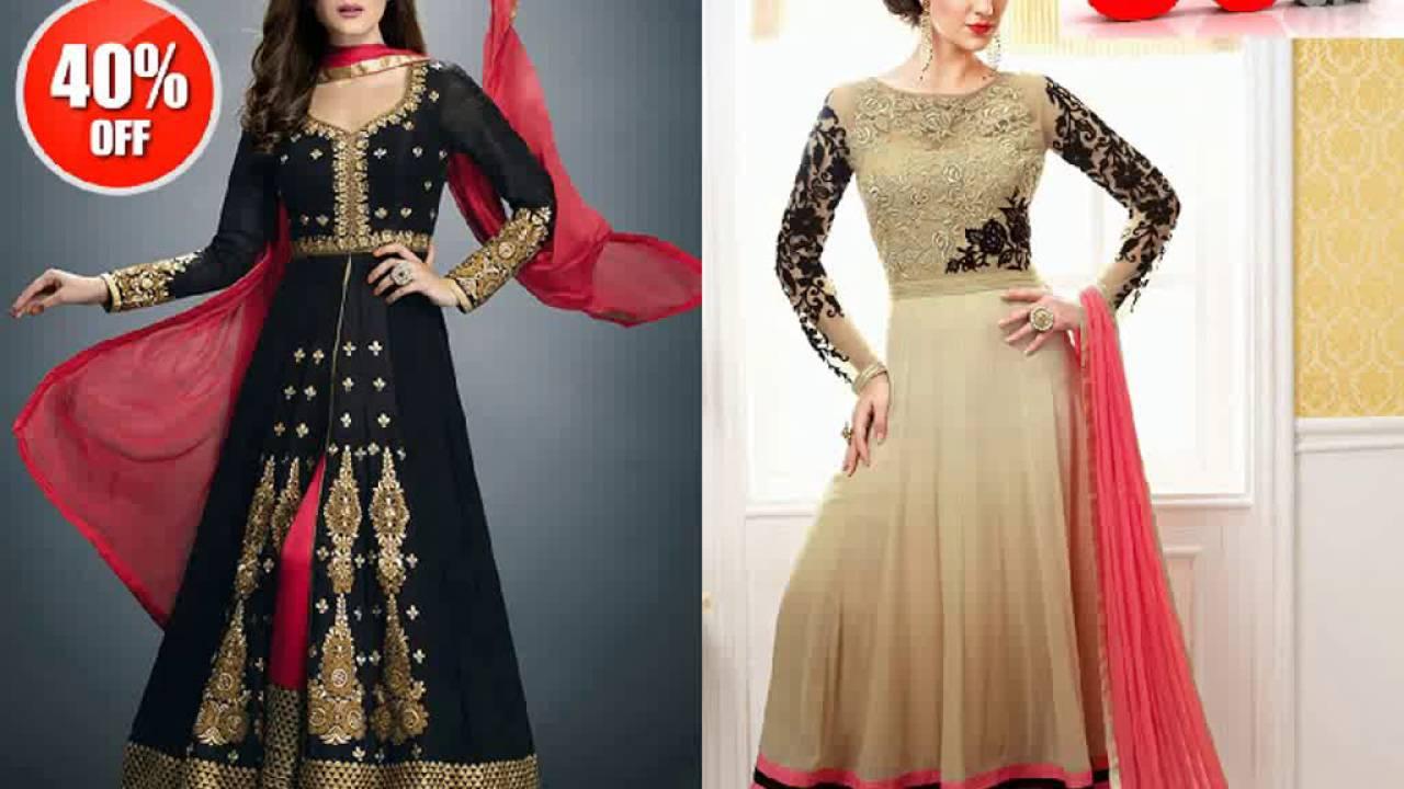 New Fashion Bollywood Designer Replica Salwar Kameez Online - YouTube
