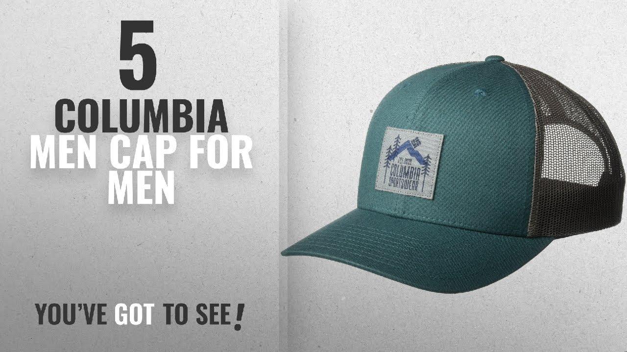 9b5b52261a50a Top 10 Columbia Men Cap  2018    Columbia Men s Mesh Snap Back Hat ...