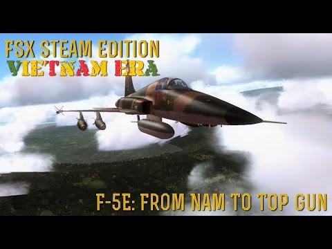 [FSX SE] VIETNAM ERA:  F-5E Tiger II