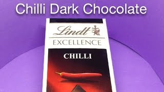 Lindt Excelence Chilli Dark Chocolate