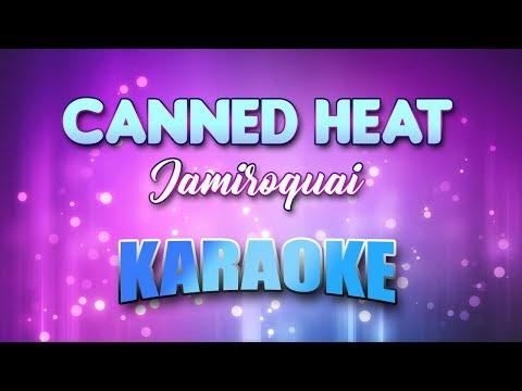 Jamiroquai - Canned Heat (Karaoke version with Lyrics)